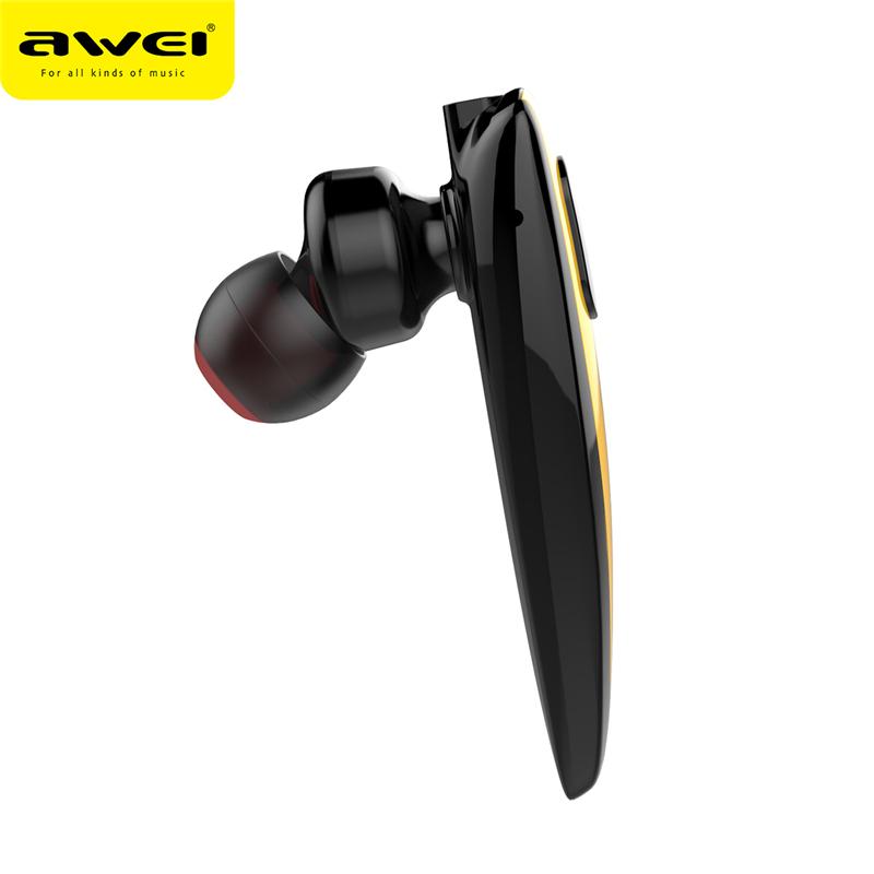 Tai nghe Bluetooth Awei N3 chính hãng không dây tai nghe giảm tiếng ồn, đàm thoại 6 giờ