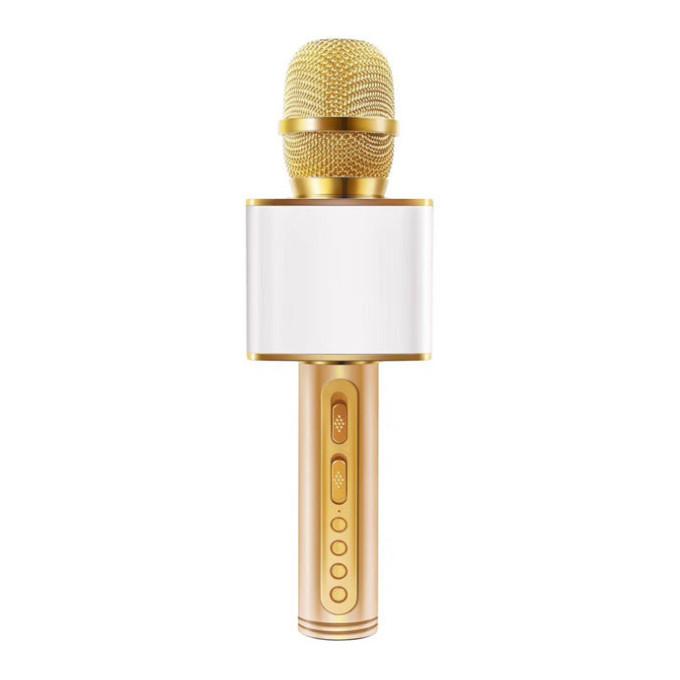 Micro karaoke không dây bluetooth kiêm loa nghe nhạc 08 auth 3 trong 1