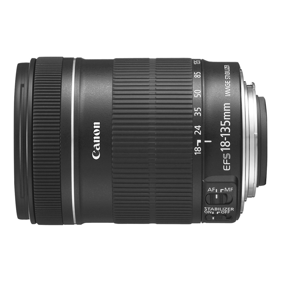 Lens Canon EF-S 18-135mm f/3.5-5.6 IS STM - Hàng Chính Hãng