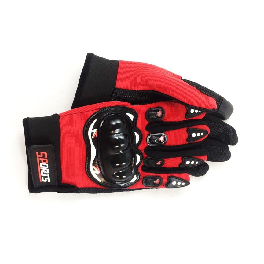 Bộ găng tay dán Sports hỗ trợ tập gym, đi phượt, leo núi  ( màu đỏ )