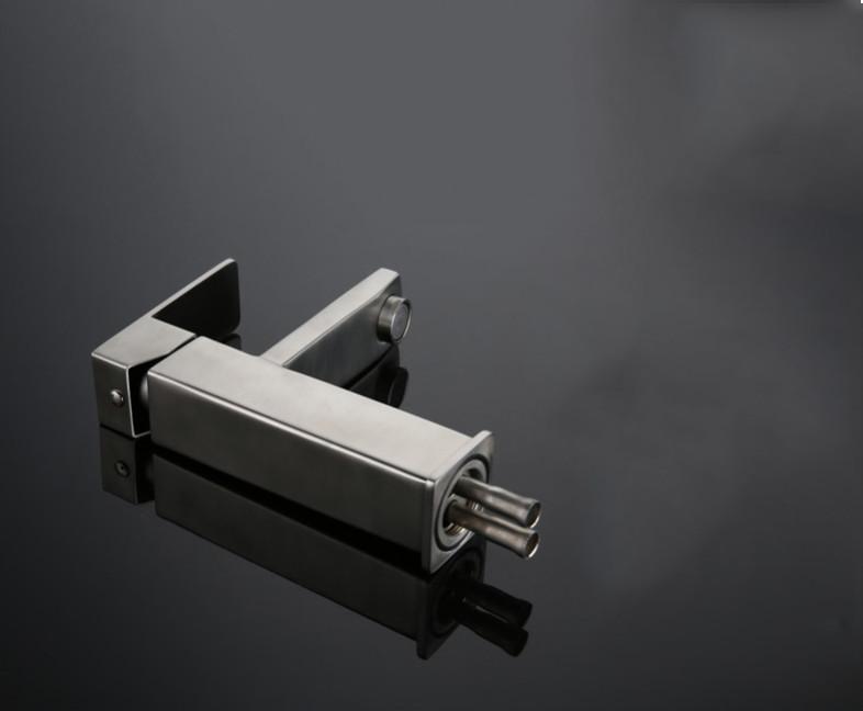 Vòi nước rửa vuông nóng lạnh inox 304  nguyên bản
