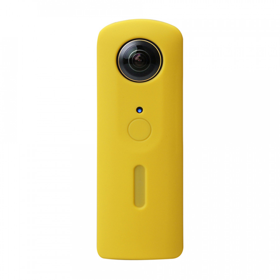 Andoer Protective Silicone Rubber Cover Soft Case Protector Skin Cover for Ricoh Theta S 360 Degree Panoramic Panorama - Yellow - 23416886 , 4161613760234 , 62_15455037 , 380000 , Andoer-Protective-Silicone-Rubber-Cover-Soft-Case-Protector-Skin-Cover-for-Ricoh-Theta-S-360-Degree-Panoramic-Panorama-Yellow-62_15455037 , tiki.vn , Andoer Protective Silicone Rubber Cover Soft Case
