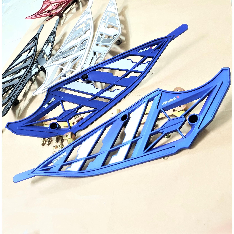 Ốp hông nhựa dành cho xe Winner X kiểu lưới tặng kèm pát và ốc