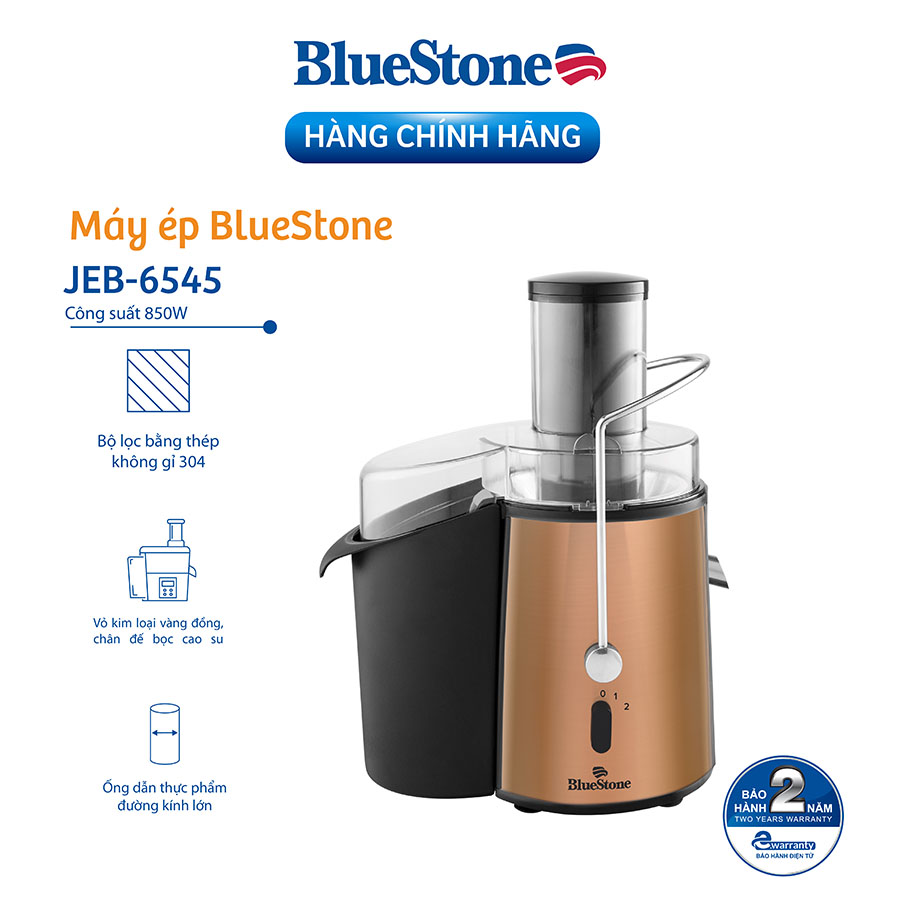 Máy Ép Trái Cây Bluestone JEB-6545 (850W) - Hàng chính hãng