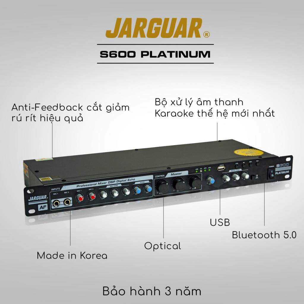 vang cơ Jarguar S600 Platinum hàng chính hãng