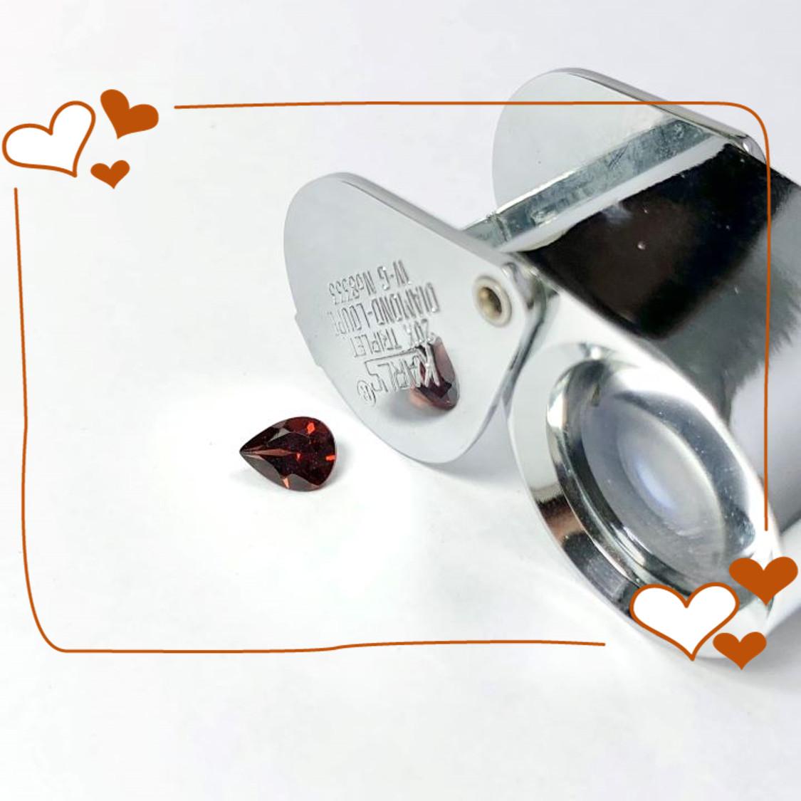 Viên đá Garnet thiên nhiên_HA-G000199