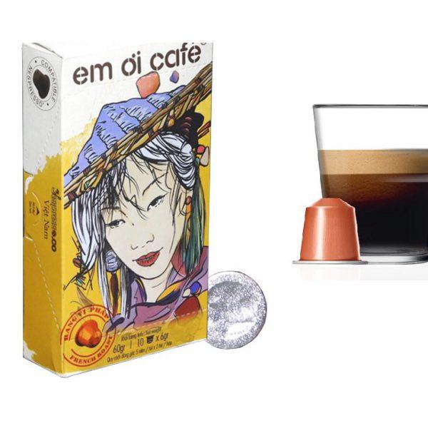 """Viên nén cà phê """"Em ơi Café"""" – Hộp 10 viên vị Bourdon"""