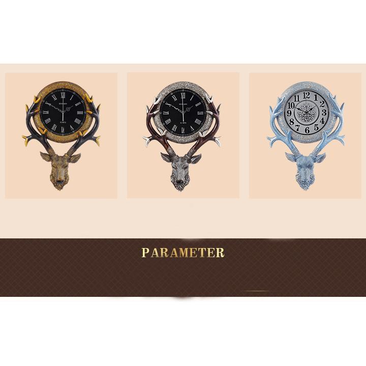 Đồng hồ sừng hươu 20 inch (kt 71x51x33cm)