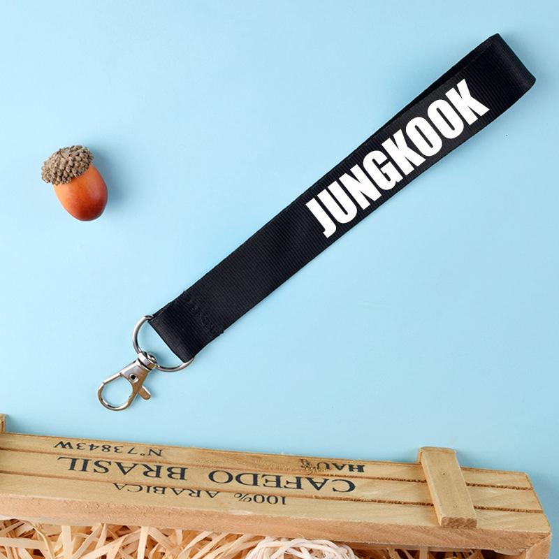 Móc khóa dây strap JUNGKOOK BTS