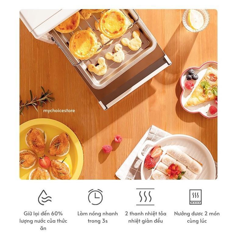 Lò vi sóng nướng bánh chuyên dụng 12L OLAYKS