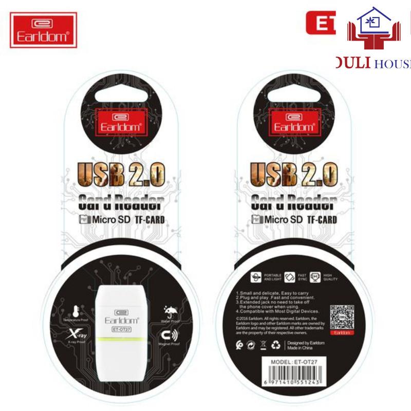 Đầu đọc thẻ nhớ, Cổng USB 2.0, Kích thước nhỏ, dễ dàng sử dụng, Hàng chính hãng