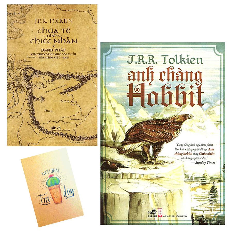 Combo Anh Chàng Hobbit và Danh Pháp Trong Chúa Tể Những Chiếc Nhẫn ( Tặng Kèm Sổ Tay)