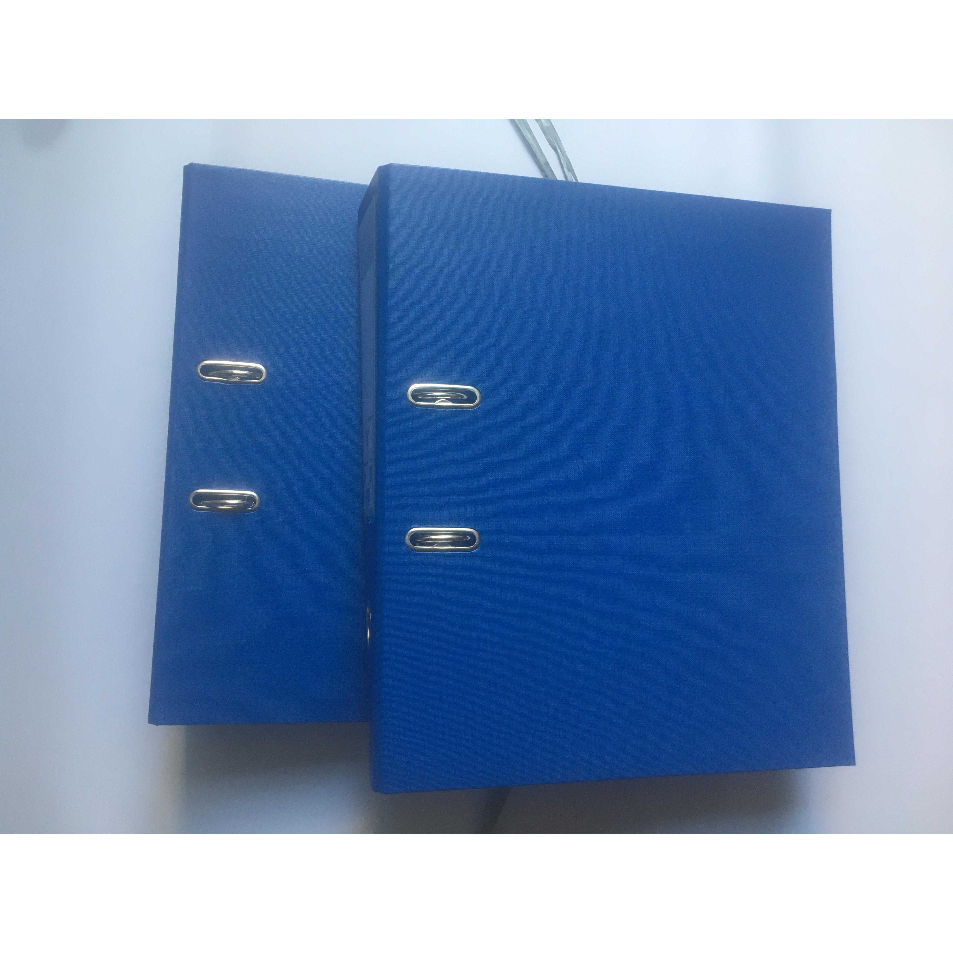 combo 2 bìa còng thái 7p xanh dương