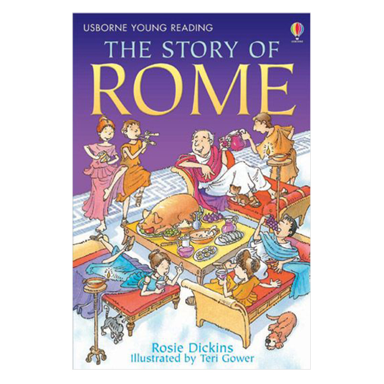 Usborne Young Reading Series Two: The Story of Rome