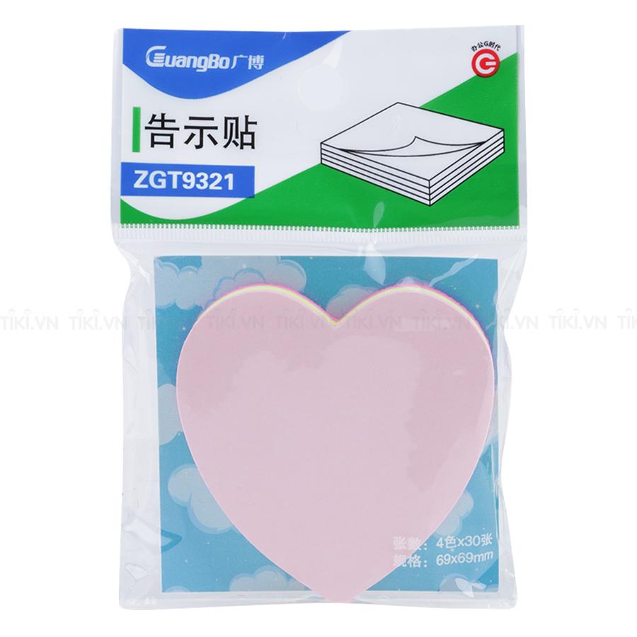 Giấy Note Uyên Loan Màu Hình Ngẫu Nhiên 9321 Guangbo