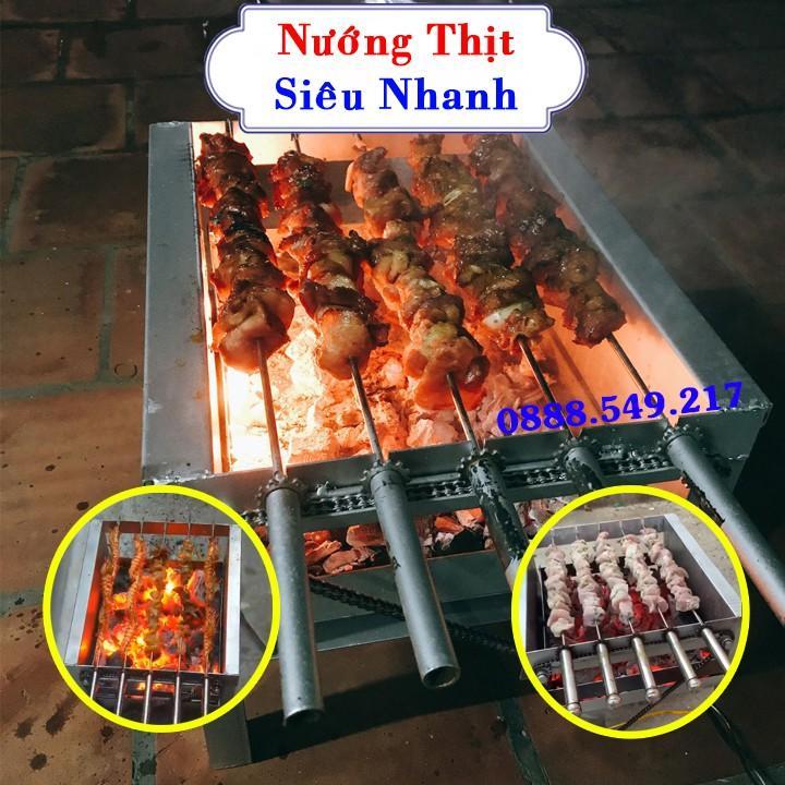 Máy Nướng Thịt Loại Tốt Thép Siêu Dầy Chống Rỉ