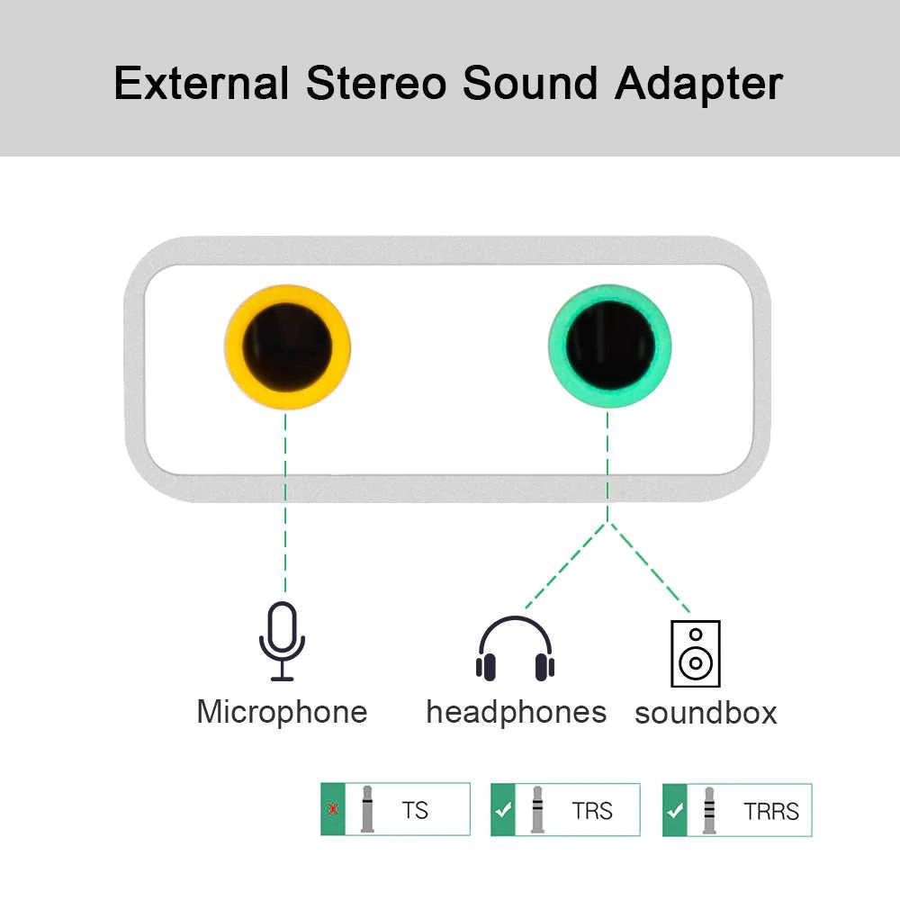 Dây Cáp Usb sound card 7.1 âm thanh 3D