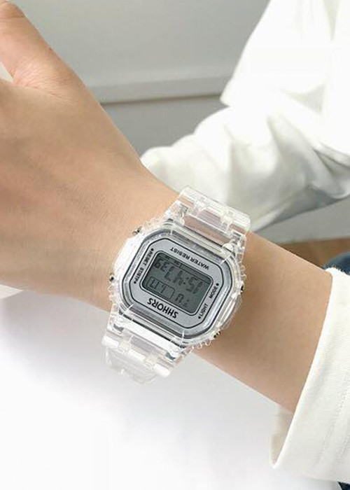 Đồng hồ điện tử nữ thể thao A689 nhiều màu