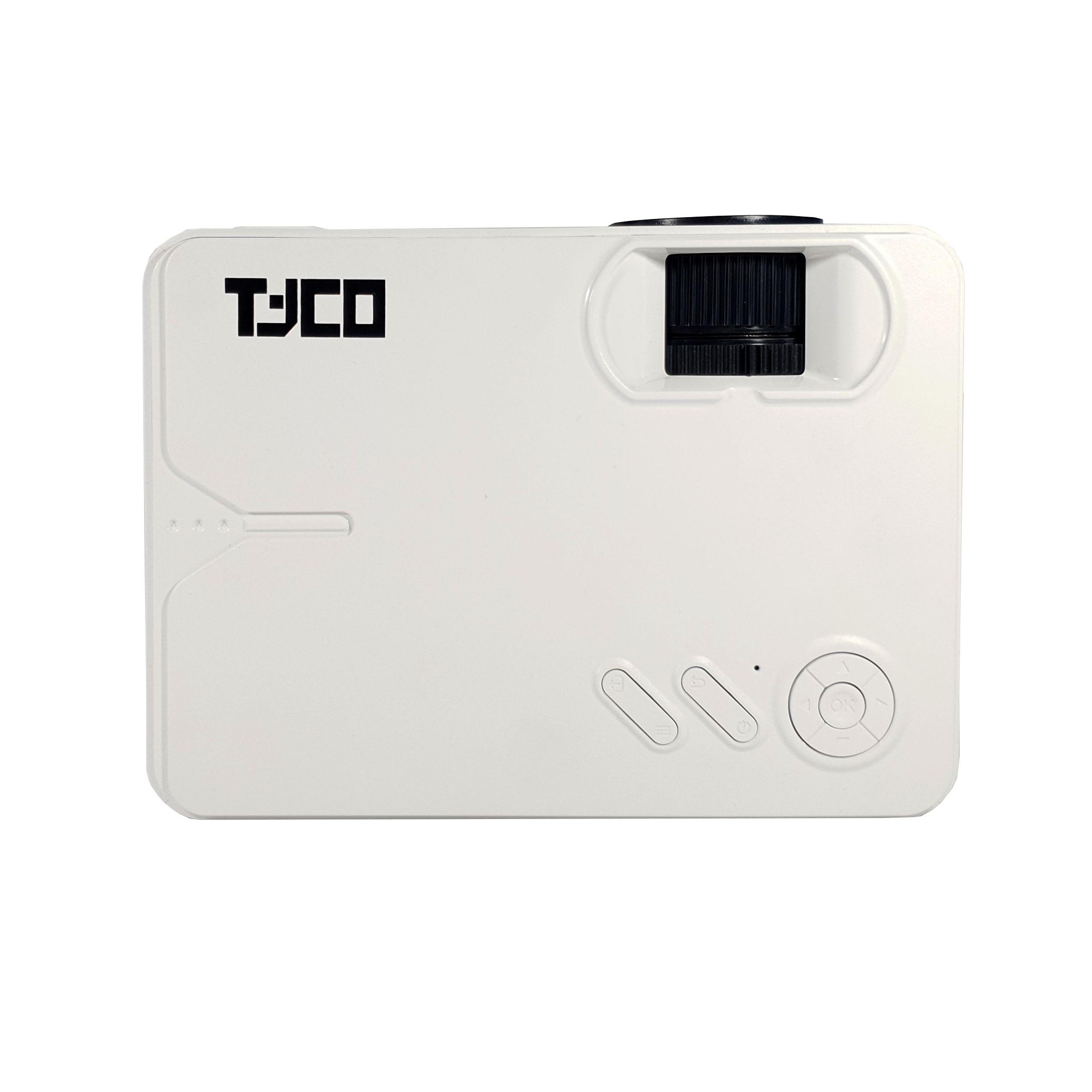 Máy chiếu mini Tyco T1800+ wifi - Hàng chính hãng