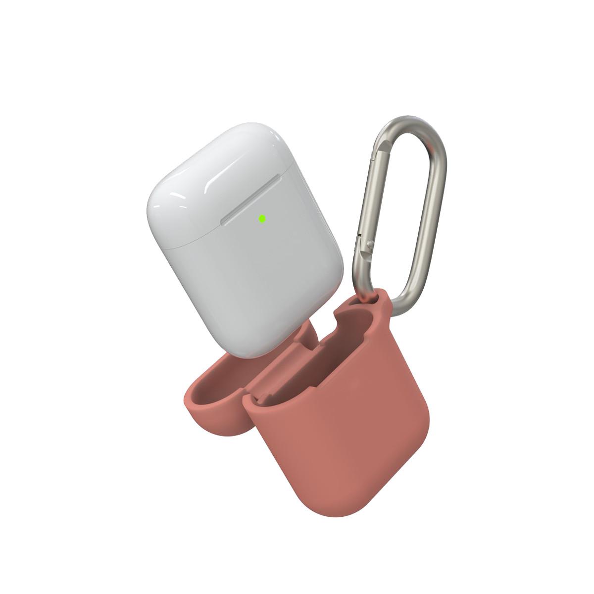 Bao Gear4 chống sốc, chống bẩn cho Airpod 1 & 2 - tương thích với sạc không dây mà không cần tháo vỏ - Hàng chính hãng