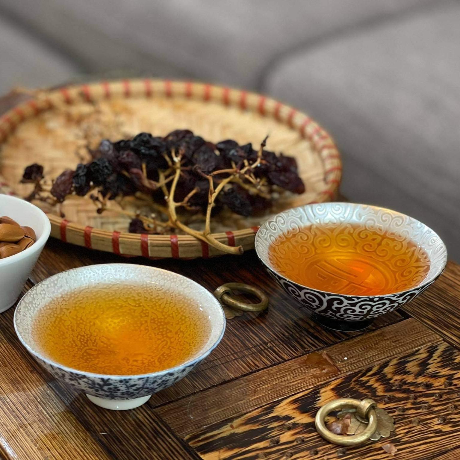 Chén bạc uống trà Thiên Mục hình nón