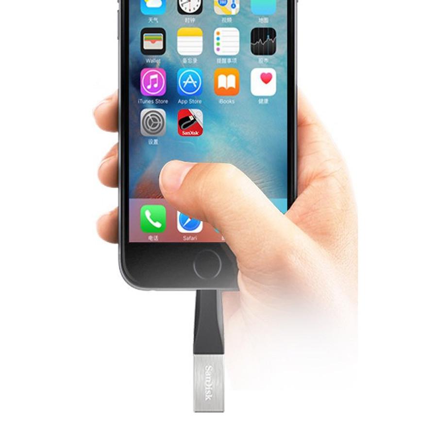 USB SanDisk iXpand IX40N 128GB - USB 3.0 – Hàng Chính Hãng