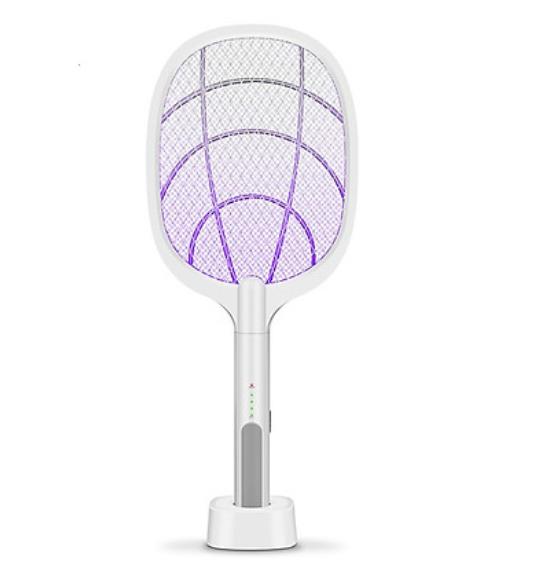 Vợt muỗi kiêm đèn bắt muỗi 2 trong 1 - Chức năng bắt muỗi tự động thông minh cho bạn rảnh tay