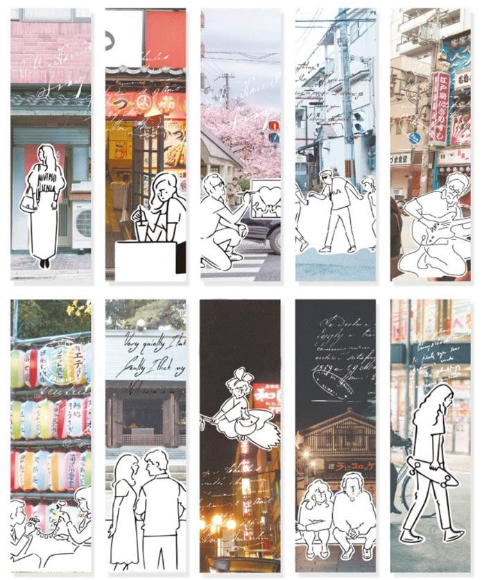 Hộp 30 Bookmark Đánh Dấu Sách Sinh Viên Văn Phòng