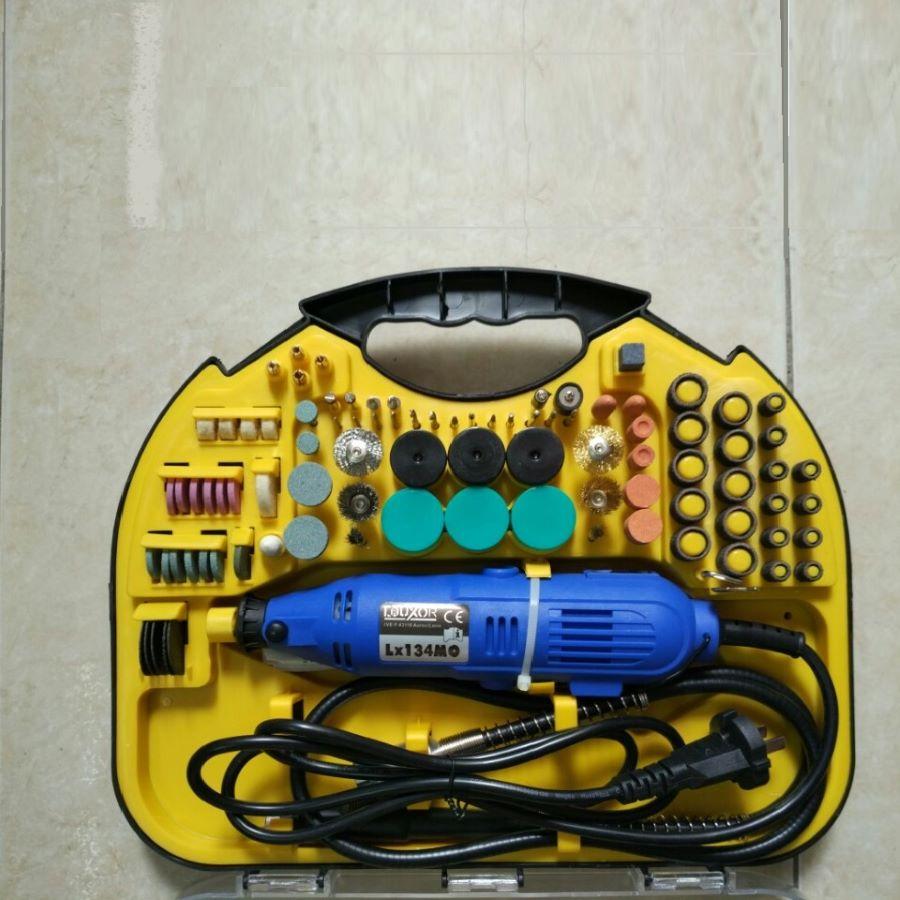 Bộ máy khoan mài khắc mini đa năng 211 chi tiết HT365
