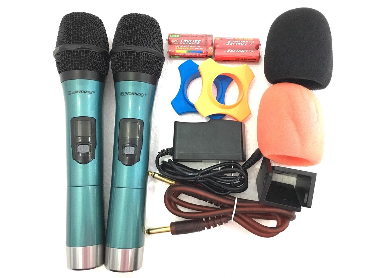 """Micro amply """"DAVIDSON A600"""" karaoke cao cấp – HÀNG VIP - SẢN PHẨM CHÍNH HÃNG"""