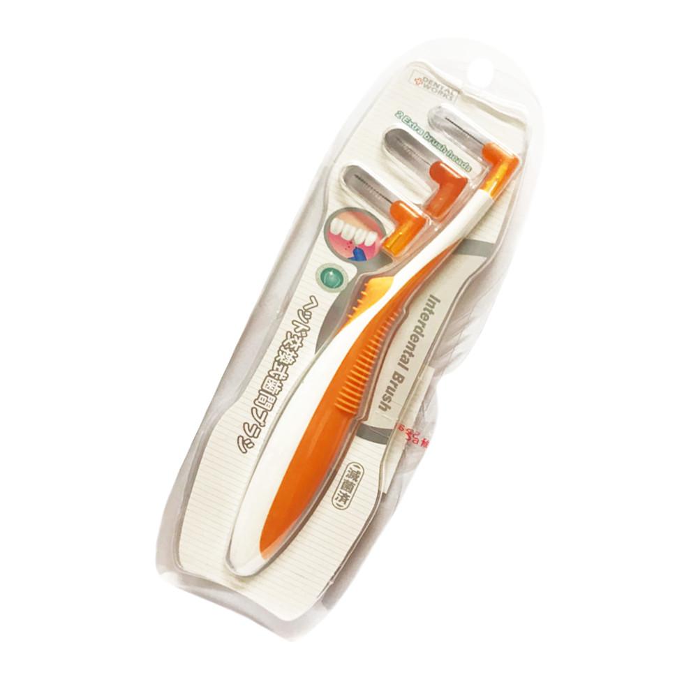 Combo 3 Bàn chải kẽ răng thay đầu CH3 Okamura (Shop giao màu ngẫu nhiên)