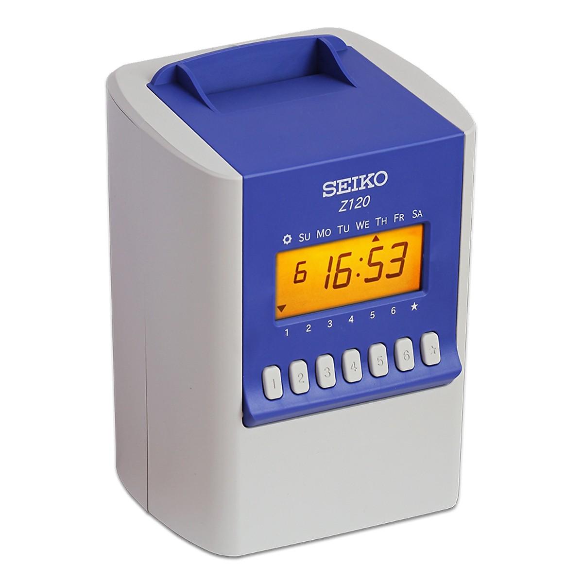 Máy chấm công thẻ giấy SEIKO Z120 - hàng nhập khẩu