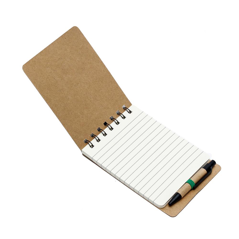 Sổ tay giấy kraft (màu nâu) 40 tờ Uncle Bills SP0299