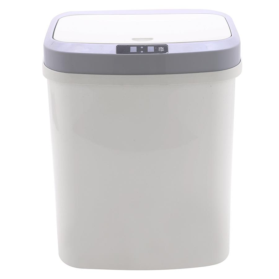 Thùng rác cảm biến vuông Vinasu 15L (Giao màu ngẫu nhiên)
