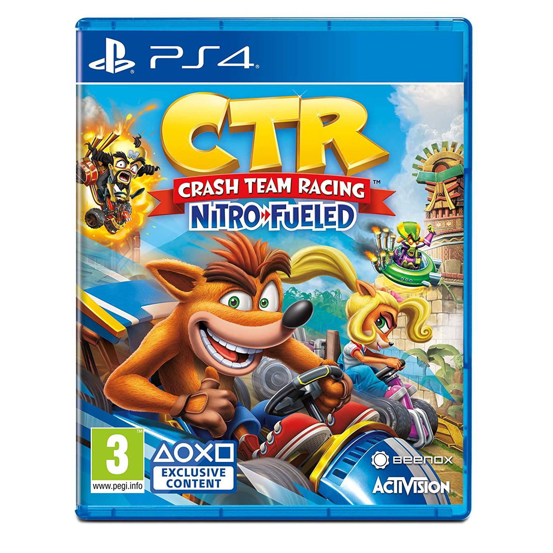 Đĩa Game PS4 :Crash Team Racing Nitro-Fueled -hàng nhập khẩu