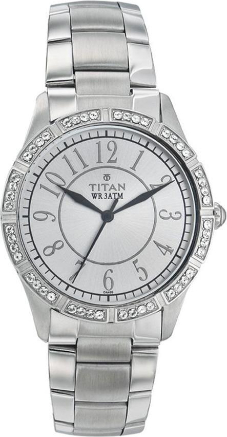 Đồng Hồ Đeo Tay Nữ Dây Kim Loại Titan 9862SM01 (32mm)