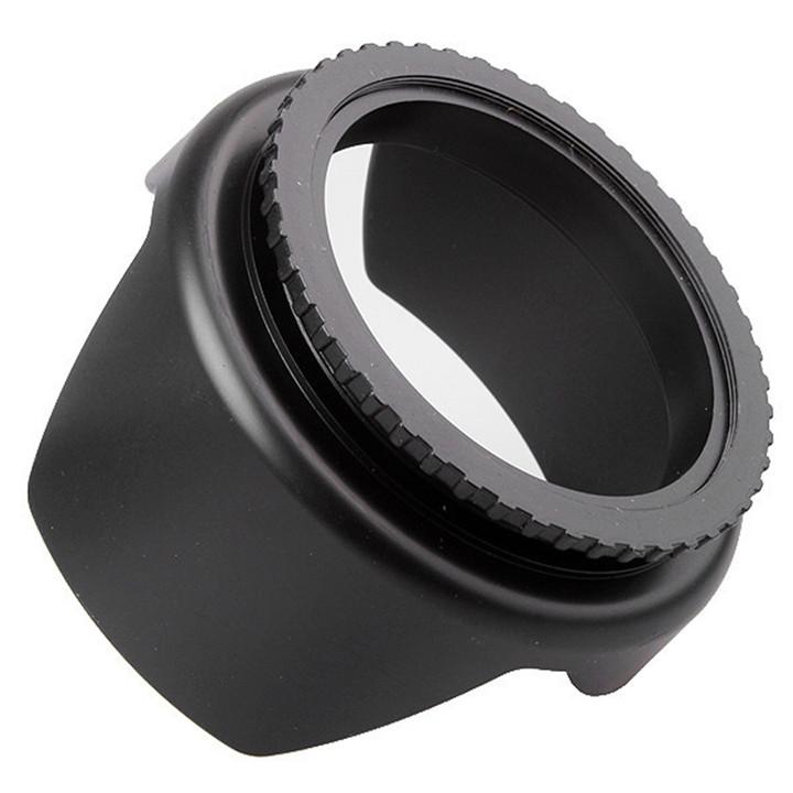 Lens hood - Loa che nắng hoa sen vặn ren ống kính máy ảnh Phi 58mm