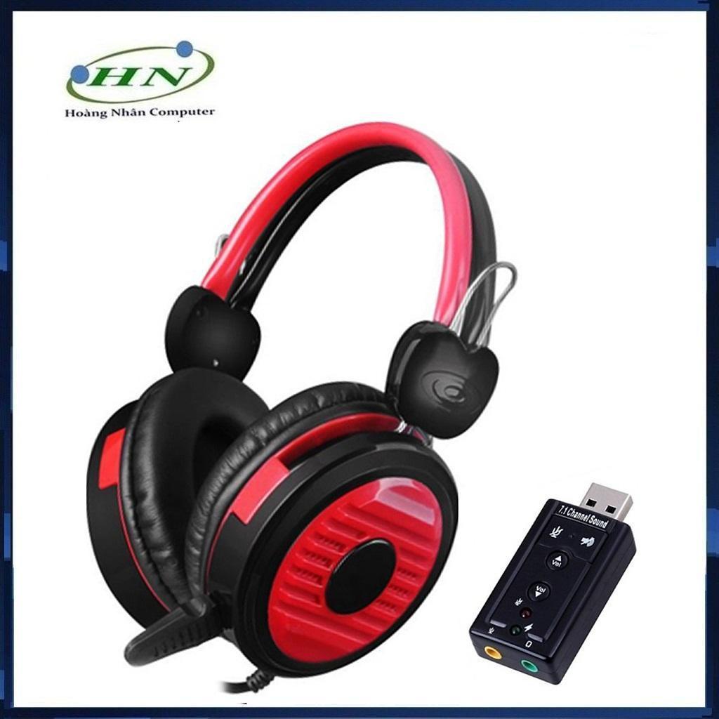 Combo Tai Nghe Chơi Game YL 902 Siêu Bền + Tặng Usb Sound 7.1
