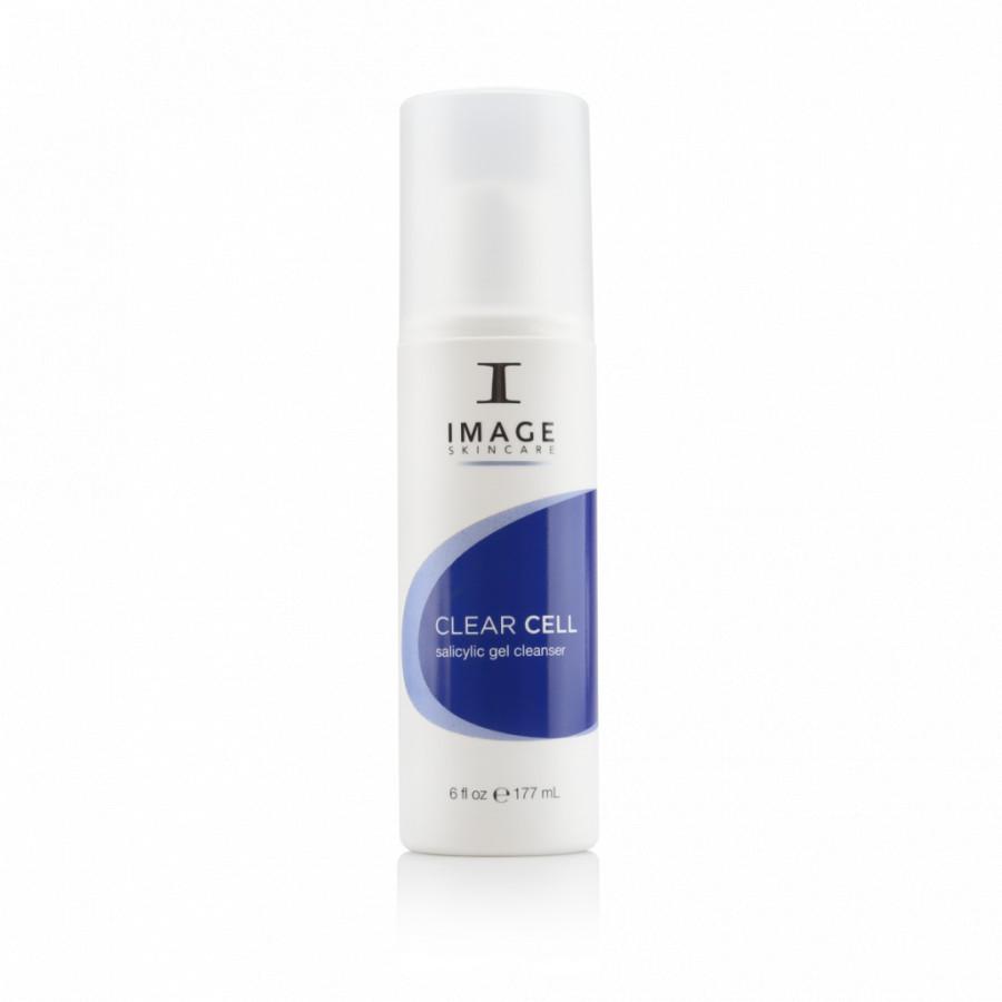 Sữa rửa mặt dạng gel dành cho da nhờn mụn Image Skincare Clear Cell Salicylic Gel Cleanser