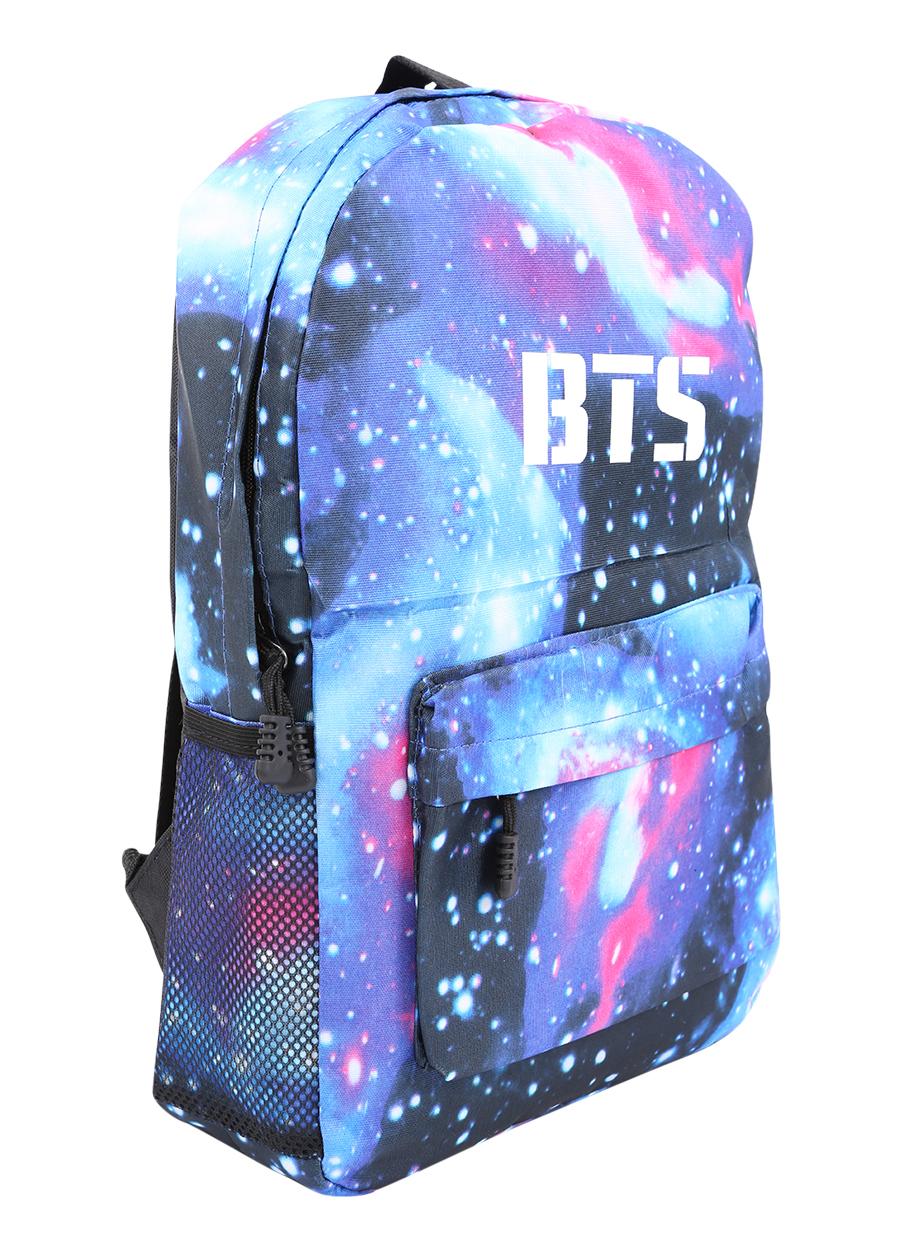Balo Học Sinh Ban Nhạc BTS - Màu Blue Galaxy