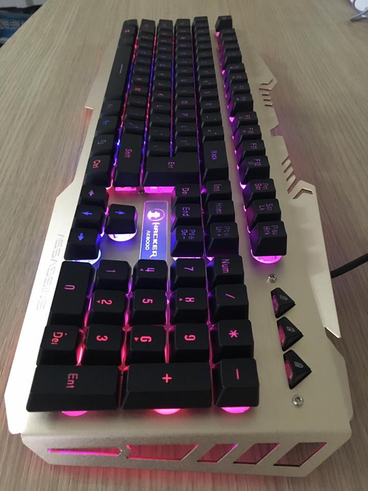 Bàn phím gaming Assassins Hacker AK8000 - Hàng chính hãng