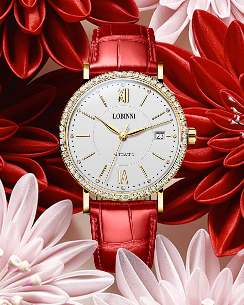 Đồng hồ nữ chính hãng Lobinni No.026-2