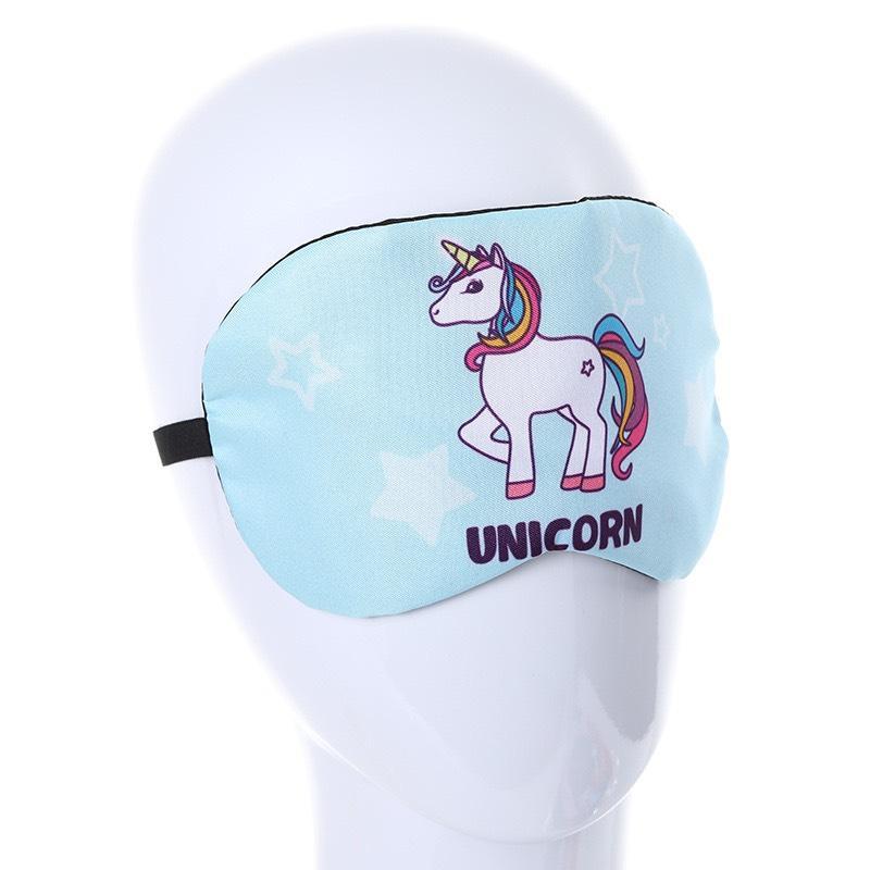Bịt Mắt Ngủ Miếng Che Mắt Unicorn Dễ Thương – Họa Tiết Ngẫu Nhiên
