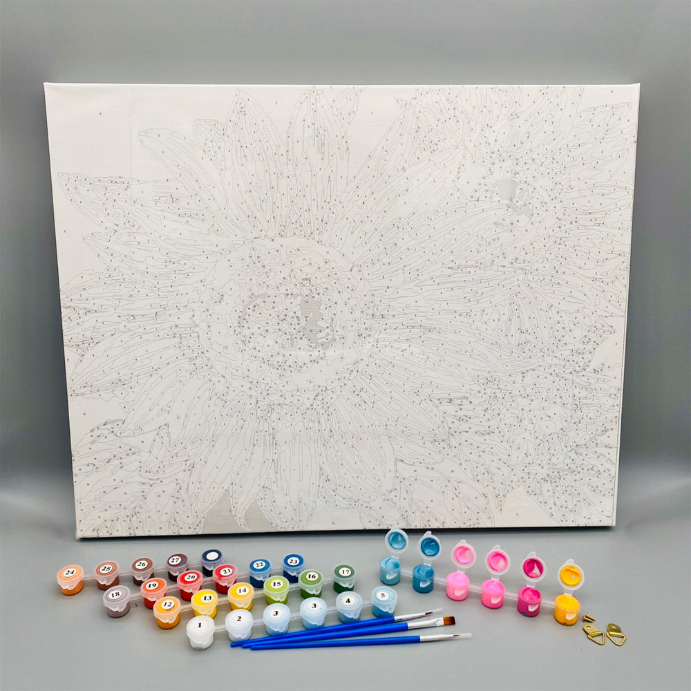 Tranh tự vẽ tự tô màu theo số sơn dầu số hóa Ngọn hải đăng trên bờ biển mùa xuân PC0962