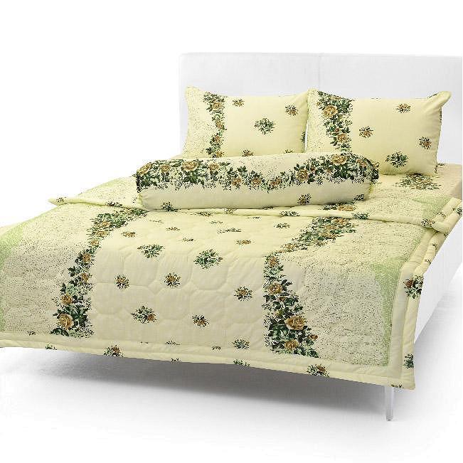 Bộ drap giường Cotton Cao cấp - Bộ 3 món (1drap + 2 vỏ gối nằm + 1 vỏ gối ôm)