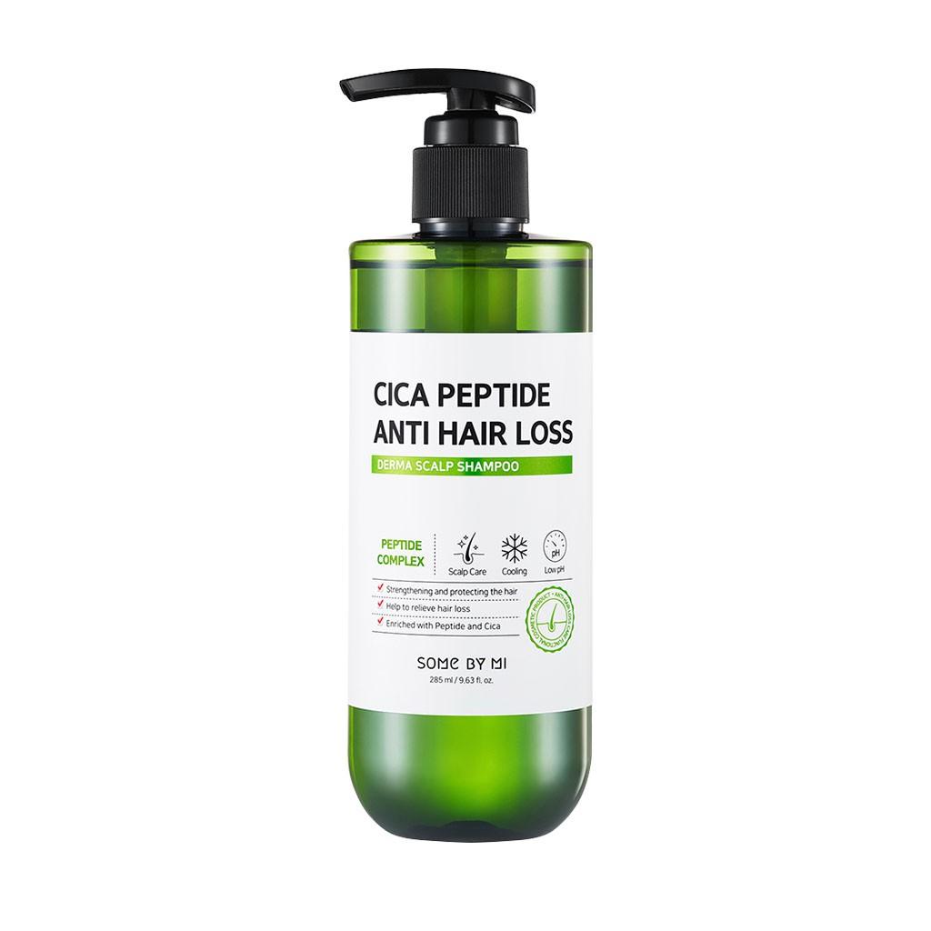 Dầu Gội Giảm Gãy Rụng và Xơ Rối Tóc Some By Mi Cica Peptide Anti Hair Loss Derma Scalp Shampoo 285ml