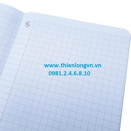 Sổ giáo án may 4 ô ly - 200 trang; Klong 370 bìa xanh