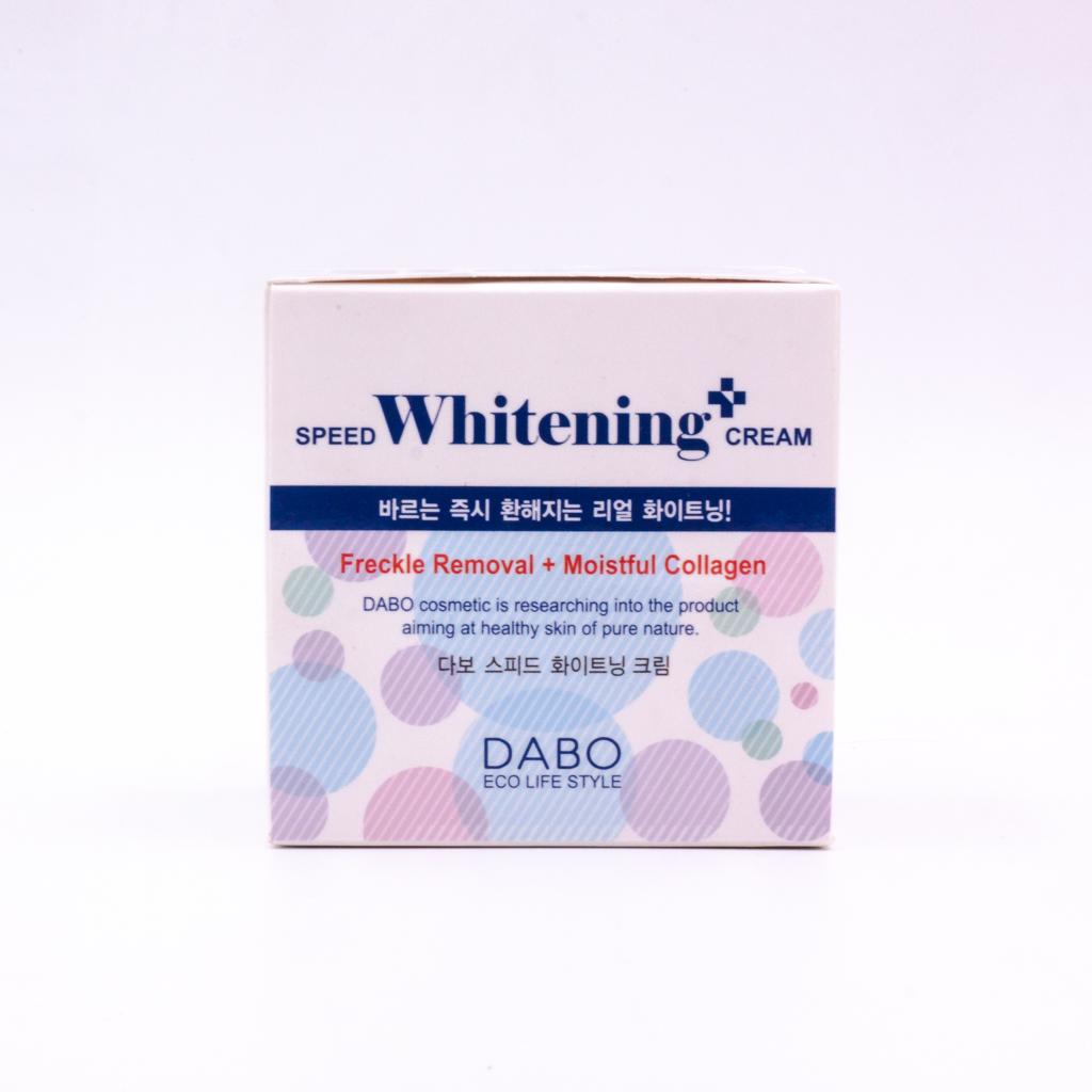 Kem dưỡng trắng da mặt cho da nhạy cảm Dabo Speed Whitening-Up (50ml)