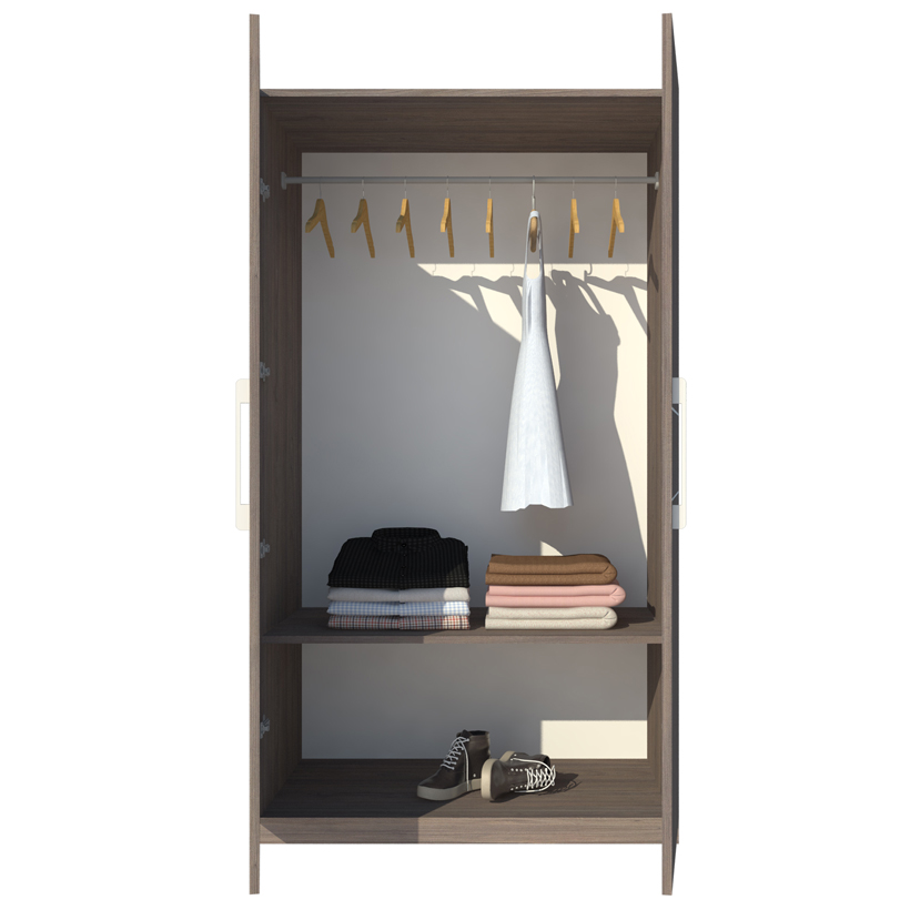Tủ áo Hiện Đại Cao Cấp FINE FT015 (100cm x 200cm)