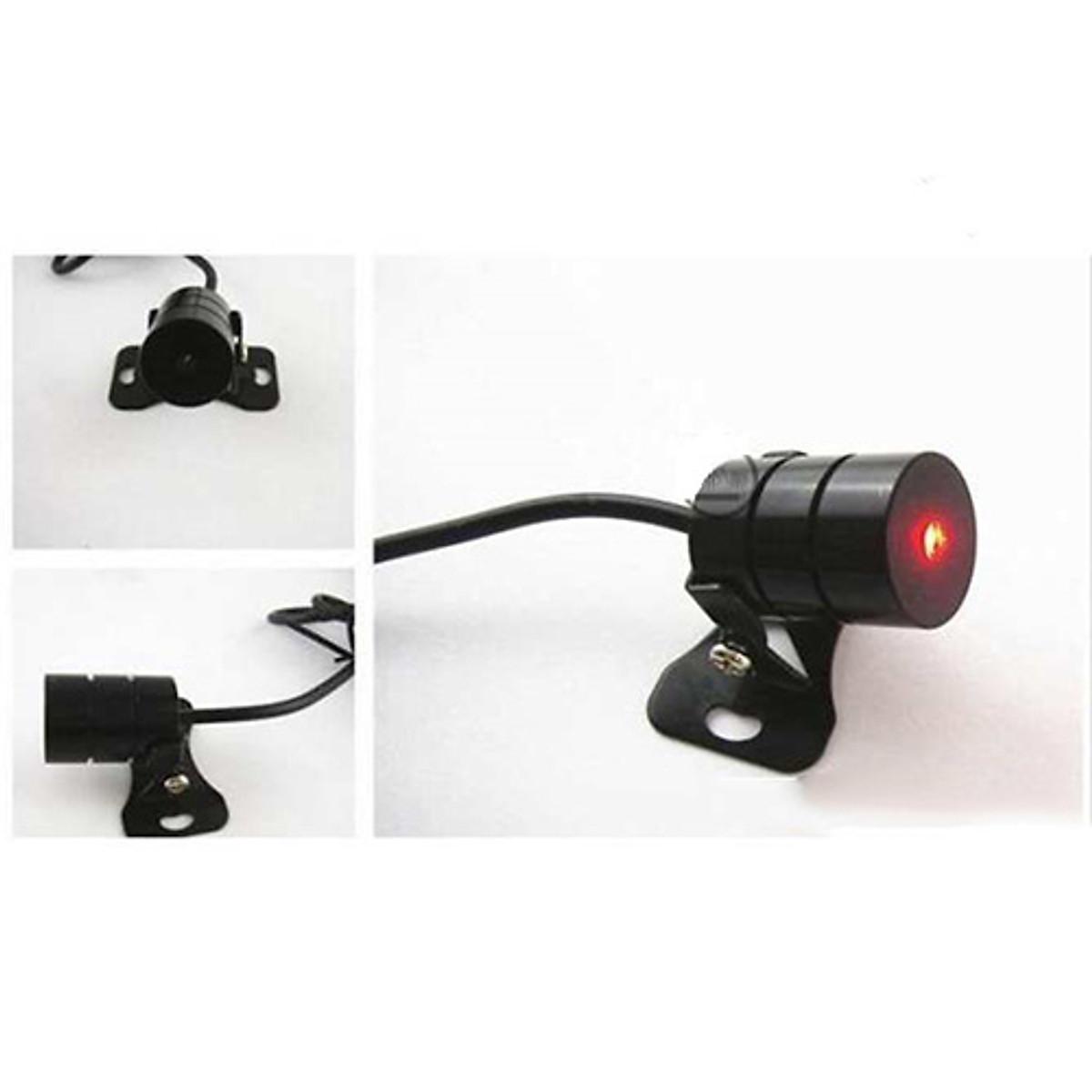 Khóa Chống Trộm Xe Máy 4 Nút Thông Minh -  Tặng Đèn Laze Đuôi Xe Máy, Ô Tô